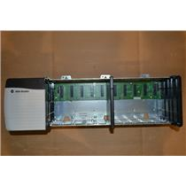 1756-PB72 Series B Allen Bradley ControlLogix Power Supply with 1756-A10 Rack