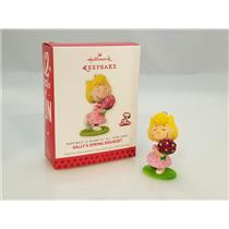 Hallmark Ornament 2014 Peanuts Monthly #10 - Sally's Spring Bouquet - #QX9845-DB