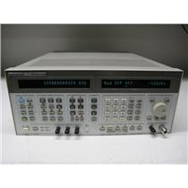 Agilent HP 8644B High-Performance Signal Generator, 0.26 KHz-2060 MHz, Opt 002