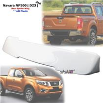 Aftermarket ABS White Rear Spoiler Wing For Navara NP300 D23 RX SL 2015-ON
