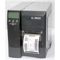 Zebra ZM400 ZM400-2001-0500T Thermal Barcode Label Printer USB Network