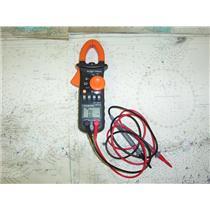 Boaters' Resale Shop of TX 911 KLIEN TOOLS MODEL CL200 AC CLAMP METER & PROBES