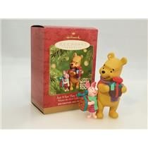 Hallmark Keepsake Ornament 2001 Just What They Wanted - Winnie the Pooh #QXD4142
