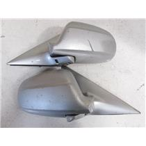 Power Folding Auto Flip Side Mirror 96-00 JDM Honda Civic EK 4 Door EK4 Silver P