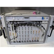 Agilent E8403A Mainframe VXI w/ E8491B, E1482B, E4805B, E4832A (E4838A)
