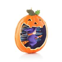 Hallmark Halloween Series Ornament 2013 Happy Halloween #1 - #QFO5205-SDB
