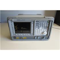 HP Agilent E4401B ESA-E Spectrum Analyzer,1 MHz to 1.5 GHz,w/ options,Calibrated