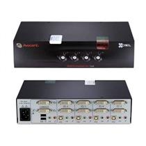 Avocent SC740-001 SwitchView SC740 SC 740 KVM Audio Switch Cybex 520-868-502 NoB