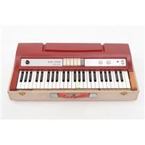 Ace Tone TOP-5 Electronic Combo Organ w/ Lid Electric Transistor TOP5 #32407