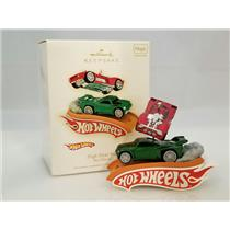 Hallmark Keepsake Magic Ornament 2009 High Flyin Fun! - Hot Wheels - #QXI1062