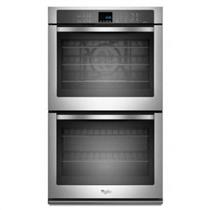 """Whirlpool 30"""" 10.0 AccuBake Stainless Double Electric Wall Oven WOD93EC0AS"""