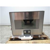 "Gaggenau 400 Series 24"" Recipe Saver Combi-Steam Convection SS Oven BS474611"