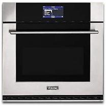 Viking 30 Inch Single Stainless Electric Thermal-Convection Oven MVSOE630SS