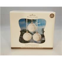 2011 Hallmark Magic Pierced Ball Ornament Set - Wonder and Light - #QXG3677