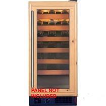 NIB Sub-Zero 15 Inch 26-Bottle Capacity Custom Built-in Wine Storage 315WORH