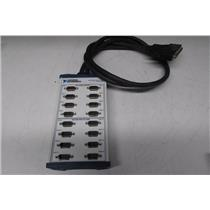 National Instruments NI RS-232 Breakout Box 16-port DB-9 (ref: db)