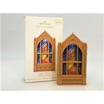 Hallmark Series Ornament 2011 Windows of Faith #2 - Light of Love - #QX8749
