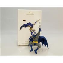 Hallmark Keepsake Ornament 2011 Batman Takes Flight - DC Comics - #QXI2607-DB