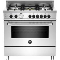 "Bertazzoni Master Series 36"" 5 Burners Stainless Steel Gas Range MAS365GASXT"