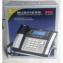 RCA 25425RE1 4 Line Corded Business Phone, NEW