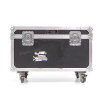 Kriz Kraft Small Audio Video Dual Monitor Trunk ATA Flight Road Case #32570