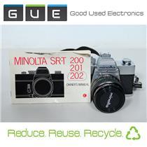 Minolta SRT 202 SLR Film Camera