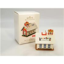 Hallmark Keepsake Ornament 2010 Play Family School - Fisher-Price - #QXI2303