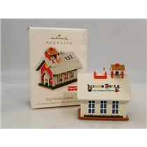 Hallmark Keepsake Ornament 2010 Play Family School - Fisher-Price - #QXI2303-DB