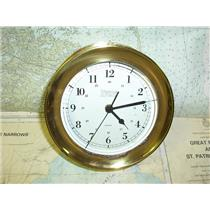 "Boaters' Resale Shop of TX 1804 1147.01 WEEMS & PLATH 7"" QUARTZ CLOCK"