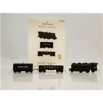 Hallmark Miniature Ornaments 2010 Lionel Scout Set - 3 Lionel Trains - #QXM9036