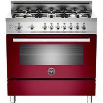 "Bertazzoni Professional 36"" 6 Sealed Burners RW Pro-Style Gas Range PRO366GASVI"