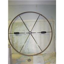 Boaters' Resale Shop of TX 1805 0721.01 LEWMAR 89700521 DUAL HUB FOLDING WHEEL