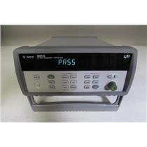 Agilent 34972A LXI Data Acquisition Switch Unit