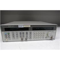 Agilent 83752A Synthesized Sweeper Signal Generator, 0.01-20GHz Opt 1E1