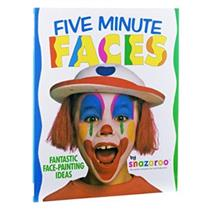 Snazaroo Five Minute Faces Face Painting Book