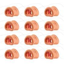 12 Hog Pig Swine Boar Costume Nose Noses Little Piggies