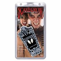 Classic Dental Fit Scarecrow Vampire Fangs in a Skull Box