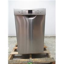 "Bosch 300 Series 18"" 46 dBA Tall Tub Built-In-Dishwasher Stainless SPE53U55UC"