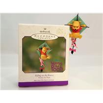 Hallmark Ornament 2001 Riding on the Breeze - Disneys Winnie the Pooh QEO8612-DB