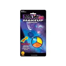 Blacklight Makeup Tri-Color Palette Colors Blue Yellow Orange