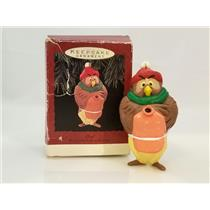 Hallmark Ornament 1993 Owl with Water Bottle - Winnie the Pooh - #QX5695-DB