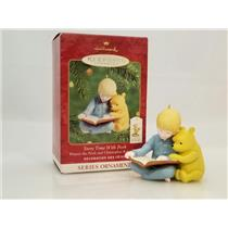 Hallmark Ornament 2000 Pooh & Christopher Robin Story Time with Pooh QXD4024-SDB