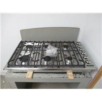 Viking Professional 5 Series 36 inch 6 Sealed Burners Gas Cooktop VGSU5366BSS