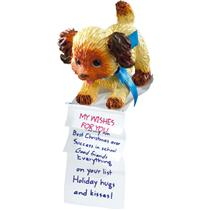 Carlton American Greetings Ornament 2010 Grandson - Puppy with List - #AGOR367X