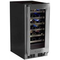 "Marvel Professional Series 15"" 24-Bottle SS Built-In Wine Storage MP15WSG3RS"