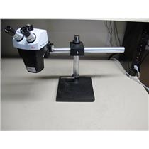 Leica StereoZoom 7 Microscope with Weighted Boom Stand