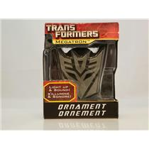 Carlton American Greetings Magic Ornament 2010 Megatron - Transformers #AXOR039X
