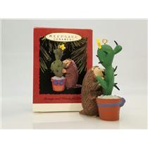 Hallmark Ornament 1993 Strange and Wonderful Love - Porcupine - #QX5965