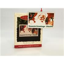 Hallmark Series Ornament 1993 U S Christmas Stamps #1 - Santa Claus #QX5292-DBNS