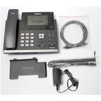 Verizon Yealink SIP-T46G Ultra-Elegant 6 Lines 2 Port Gigabit PoE VoIP SIP Phone